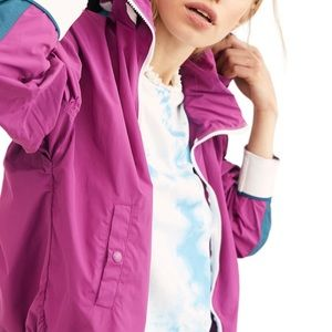 NEW Free People Retro Bomber windbreaker jacket